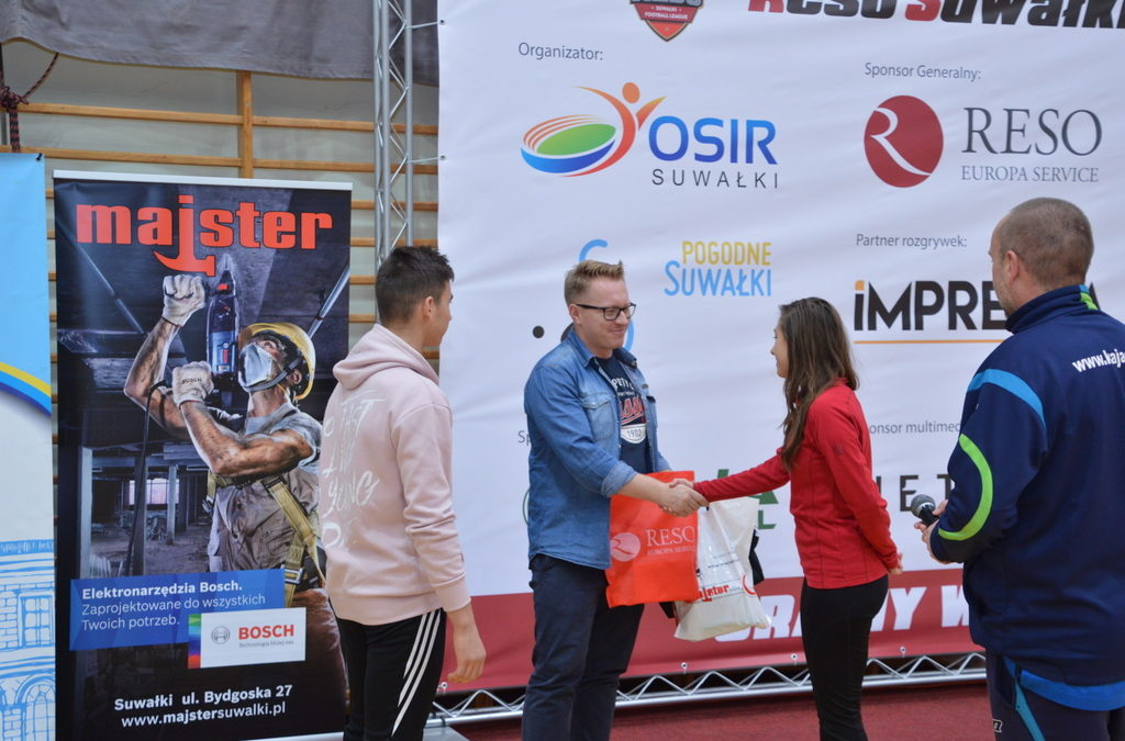 Majster wspiera RESO Footlball League