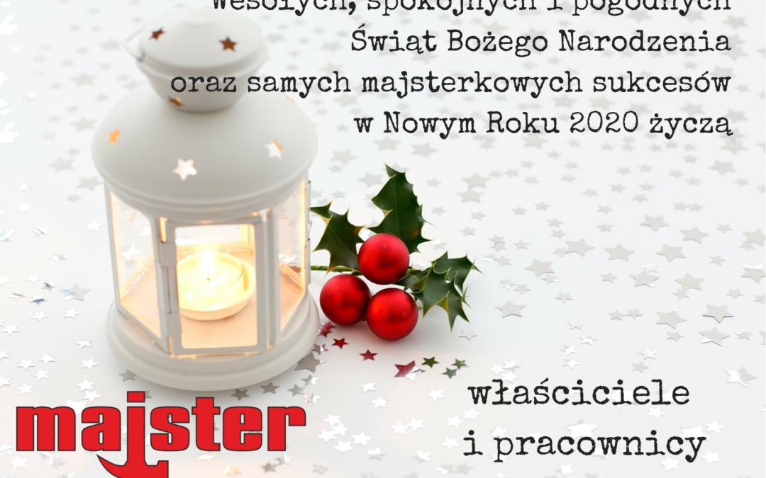 Majster życzy Wesołych Świąt