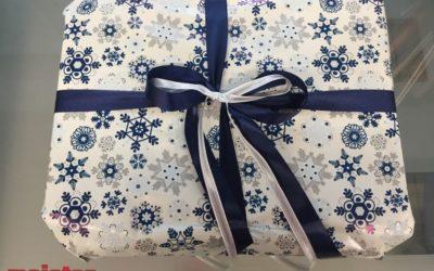 Świąteczne pakowanie prezentów