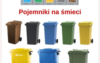 Pojemniki na śmieci w Majster Suwałki