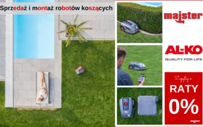 Sprzedaż i montaż robotów koszących