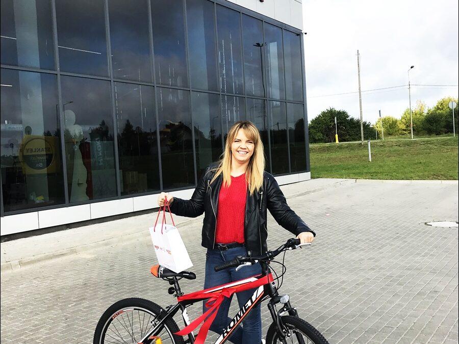 Konkurs Lato z Majstrem – zwyciężczyni odebrała rower